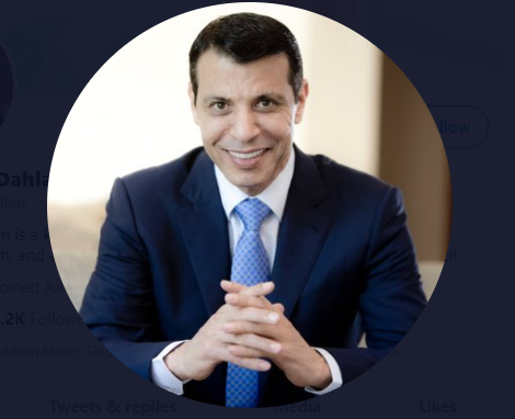 Mohammed Dahlan / Twitter