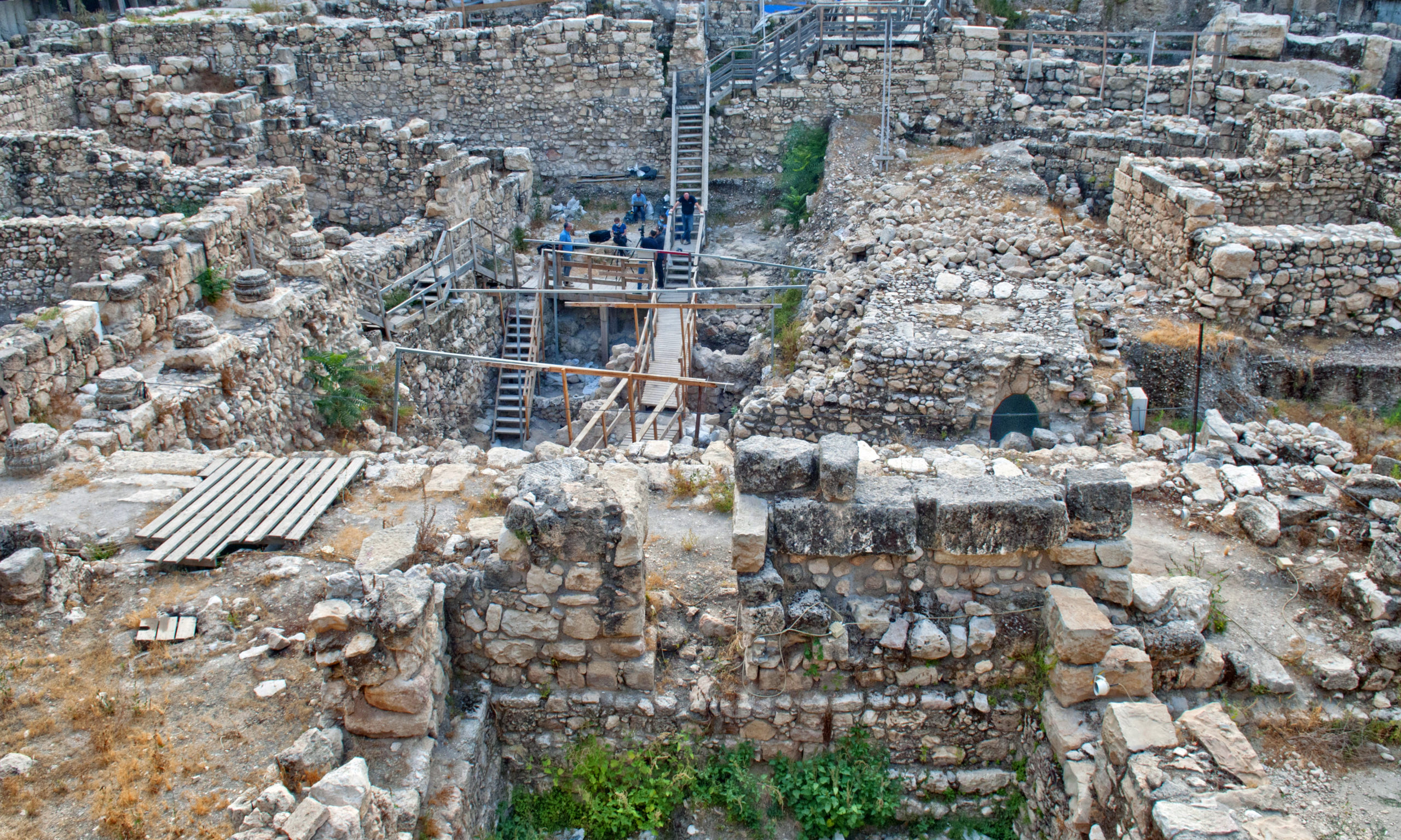 Givaty Parking Lot Excavation. Photographer Shai Halevi Israel Antiquities Authority