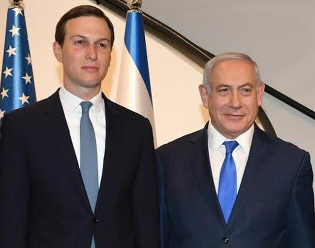 US Presidential envoy Jared Kushner and PM Netanyahu/ Kobi Gideon, GPO