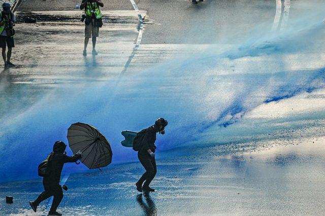 Protests in Hong Kong/ Wikipedia