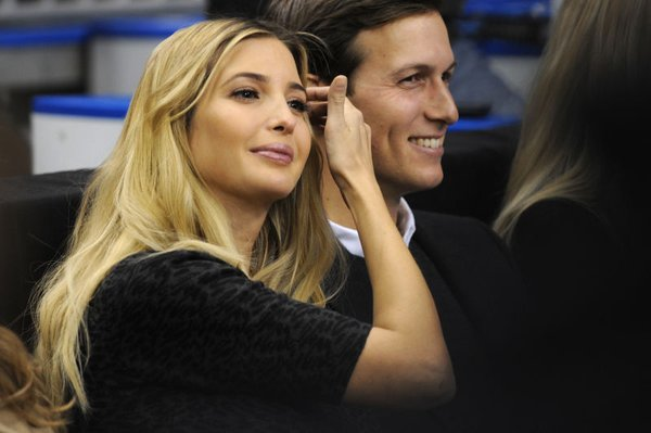 Charles Kushner son and daughter in law Ivanka Trump