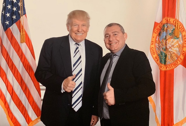 Lev Parnas and Donald Trump Twitter Post