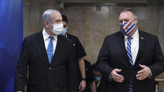 Benjamin Netanyahu and Mike Pompeo meeting in Jerusalem last week (Photo GPO)