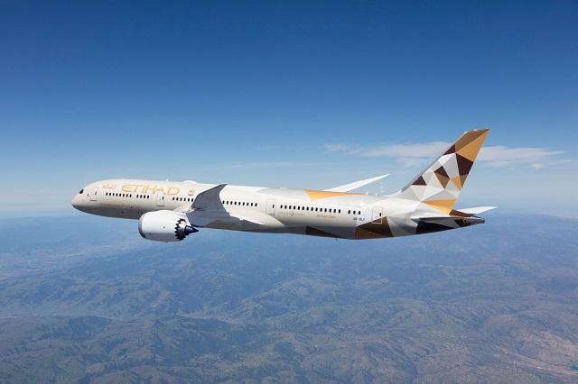 Etihad Airways Boeing 787-9 From Company Website