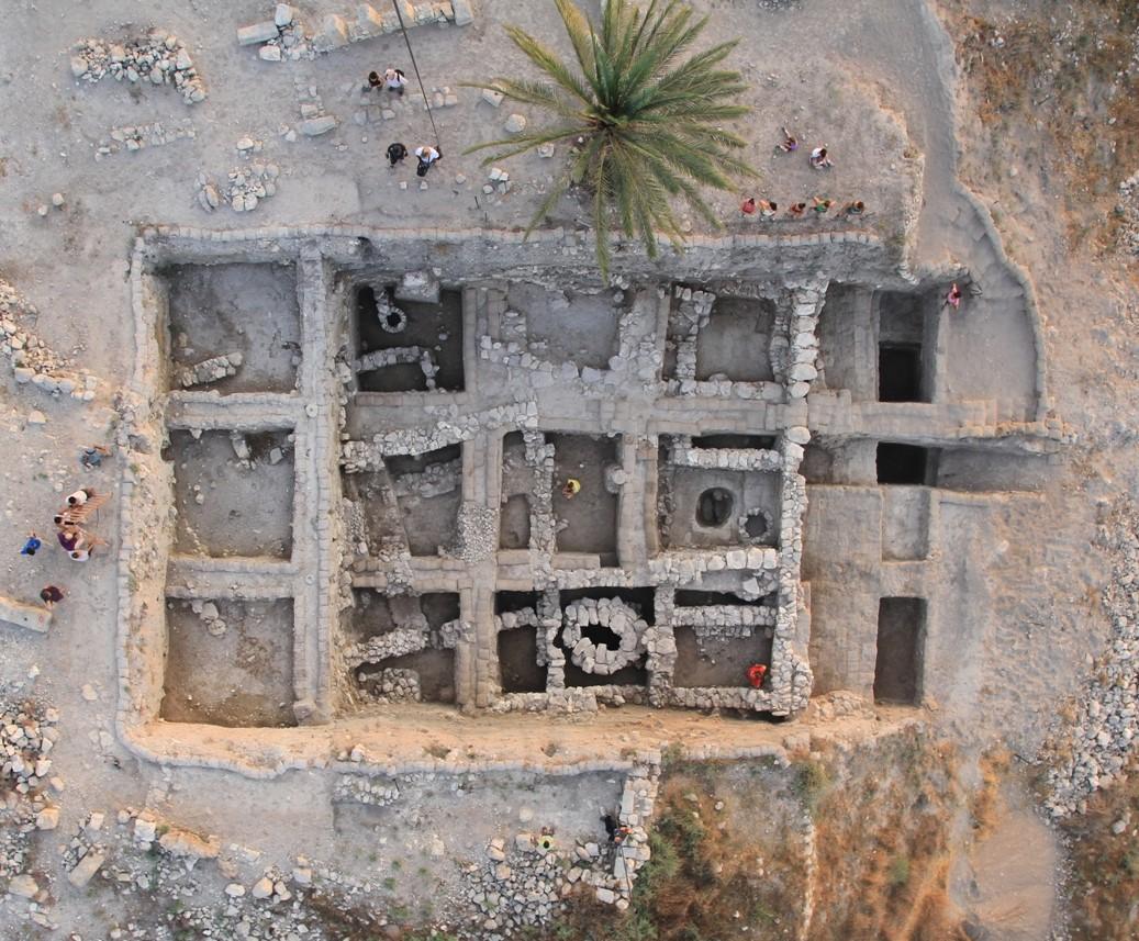 Excavations in Megiddo.
