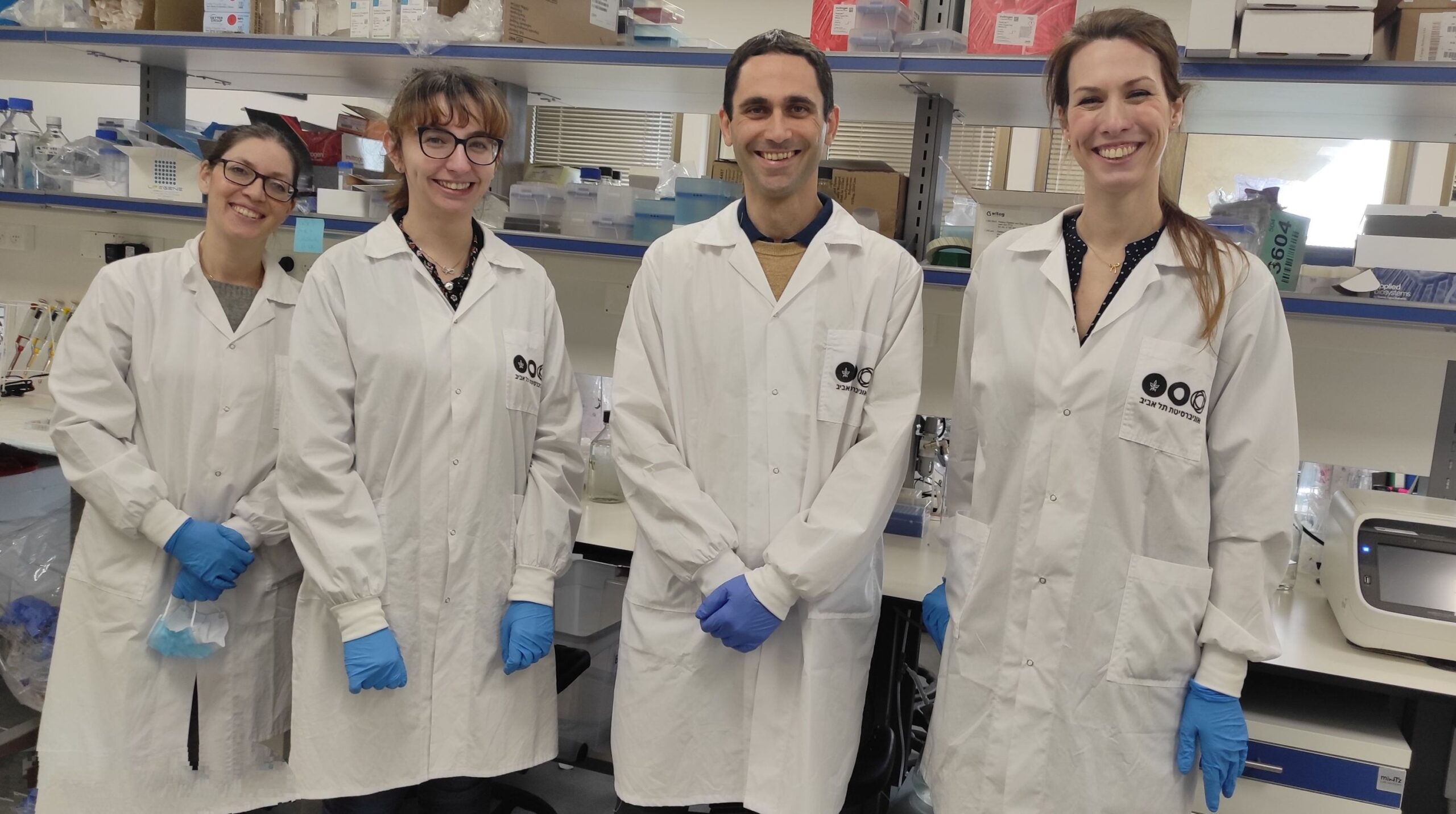 Dr. Uri Ben-David & The Lab Team (Photo Credit: Tel Aviv University)