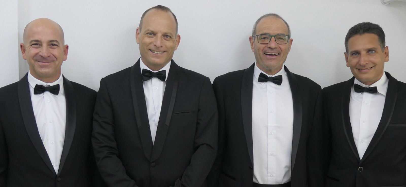 (Left to right): Guy Dorman, Dr Zvi Reznic, Prof. Meir Feder